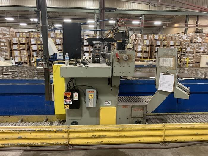 "2008 ALLTRA CORP. MODEL PG14-12 WJ,  120"" X APPROX. 468"" 2 HEAD GANTRY STYLE CNC WATER JET"