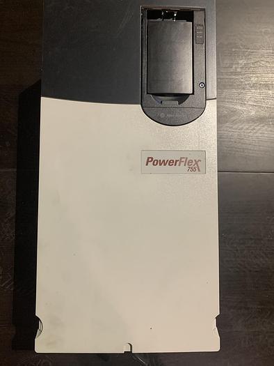 Used ALLEN BRADLEY POWERFLEX 755 DRIVE 60 HP