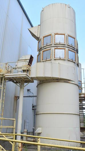 Used 484RF 10 dust collector systems available, 6,180 Sq.Ft. cloth area,484 10ft filter bags Donaldson-Torit type Air Cure 484 baghouse  two dust collector systems available,