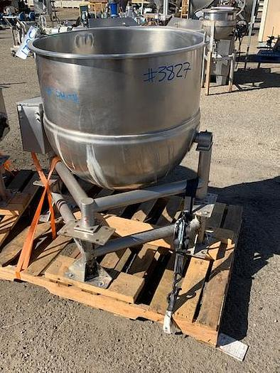 LEE 60 gal Jacketed Kettle Model DN60