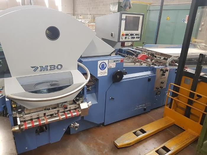 Used 2008 MBO K800.2-SKTLT/4 AUT with rotary feeder