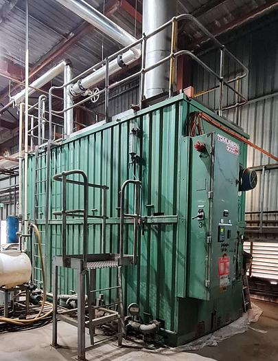 Used 1985 TOMLINSON WATER TUBE 3 MW STEAM BOILER WT-212-30000-120