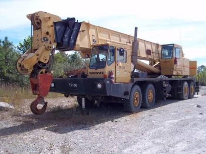 1980 Grove TMS865 Hydraulic Truck Crane