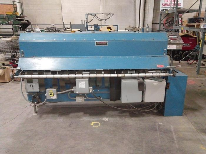 "Used 84"" ROSENTHAL SHEETER MODEL WA-S-7-HHUBSHTRAAAC24 (TWO AVAILABLE) MFG. 2000"