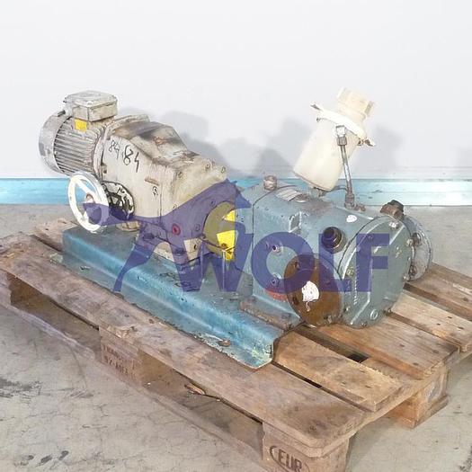 Gebraucht gebr. Kreiskolben-Pumpe LEDERLE-HERMETIC