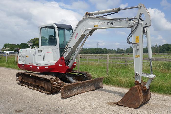 Used 2011 TAKEUCHI TB160