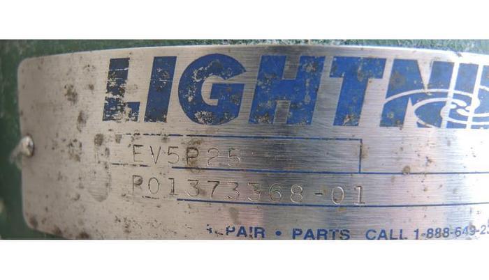 USED LIGHTNIN CLAMP-ON MIXER, MODEL EV5P25, 0.25 HP