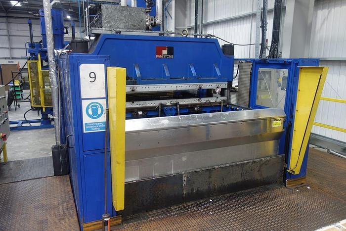 Used 2014 Panstone 500ton upstroke press P-500-APCD