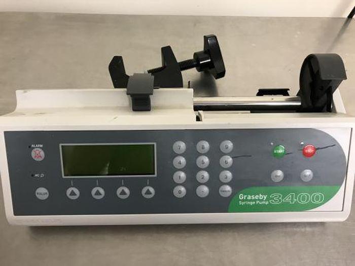 Syringe Pump Graseby 3400
