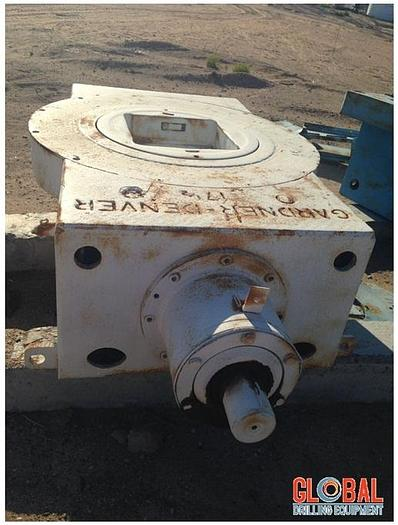 Used Gardner Denver Rotary Table, 17-1/2""