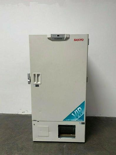 Used Sanyo VIP Series MDF-U73VC  -86 ºC Ultra Low Laboratory Freezer 220V 26 Cubic FT