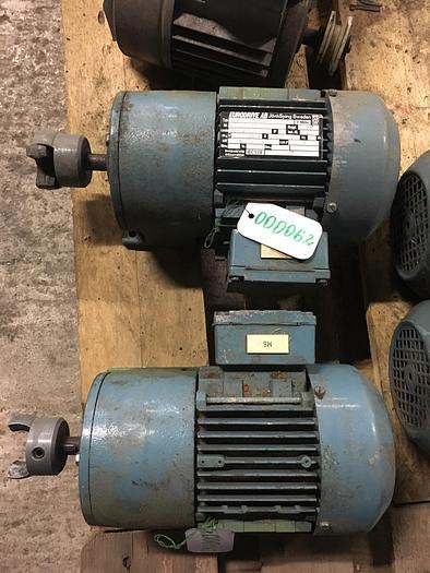 Used Eurodrive AB Electric motor 0,25 kW 1380 r/m