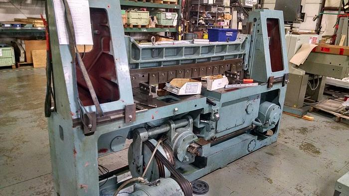 "Used 60"" (1.52M)  REBUILT LAWSON GUILLOTINE CUTTER MDL. 60T80"