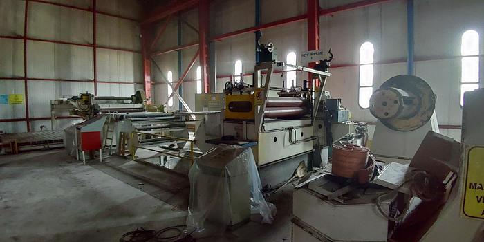 Used 1550 mm SpaTech Cut-to-Length Line: CTL-145