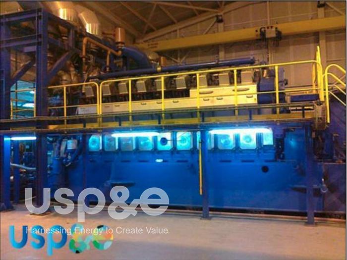Used 12 MW 2014 Used Wartsila 18V34SG Natural Gas Generator