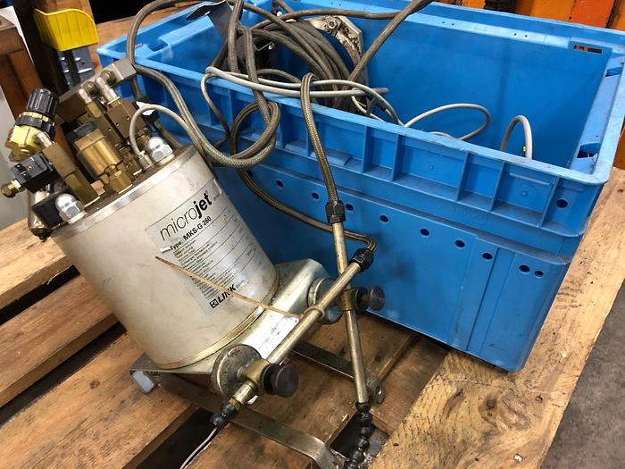 Gebraucht Minimalmengenschmierung  für Werkzeugmaschinen  MICROJET MKS-G 260