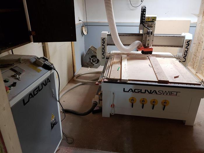 Used Laguna Tools Swift CNC with Vacuum 4' x 4'
