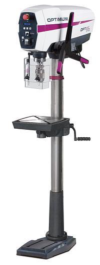 2020 Optimum OPTIdrill DP33 SET  Säulenbohrmaschine  mit Schraubstock