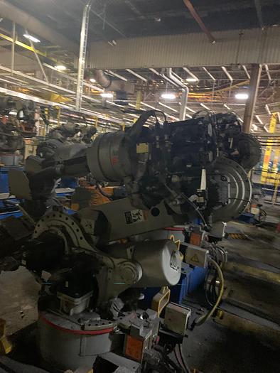 MOTOMAN ES200N 6 AXIS CNC ROBOT WITH NX100 CONTROLLER