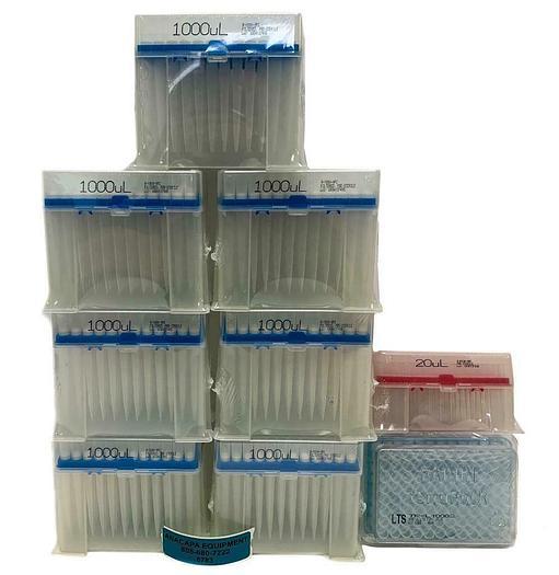 Biotix X-Tip R-1000-9FC  Manual Pipette Tips µL1000, 20 UL New  Mixed Lot (6783