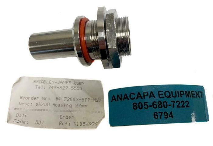 Broadley-James B4-72003-8T9-M27  pH/DO Housing 27mm (6794)W