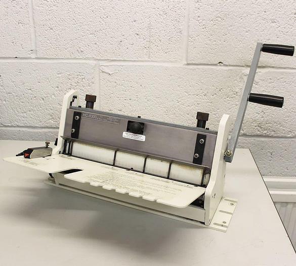 Used Pre-owned Rhino-tuff (Onyx) HC8300 / HD8370 Manual Wire-Bind Closing Unit