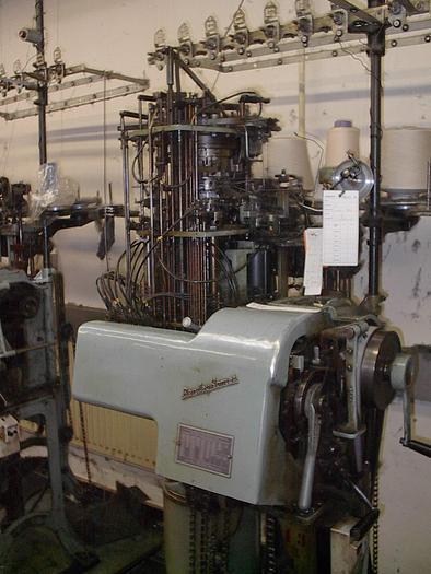 Gebraucht Doppelzylinger StrumpfautomatBENTLEY KOMET  LT E14 - 3 1/4 x 144 Nadeln