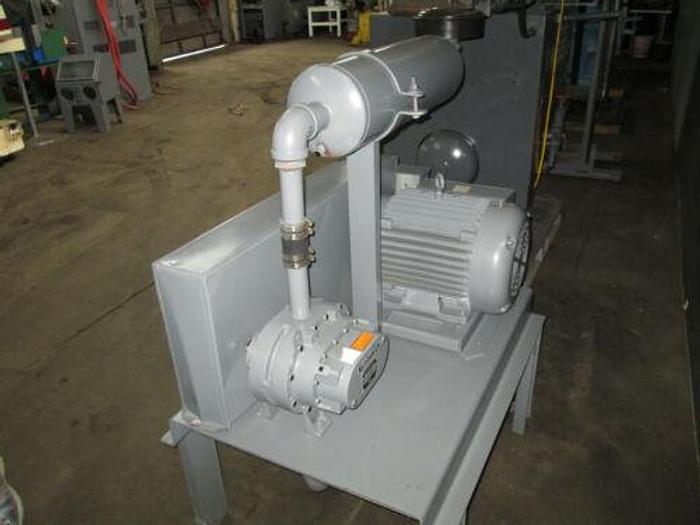 Used POSITIVE DISPLACEMENT SUTORBILT PUMP AND MOTOR 15 HP SINGLE