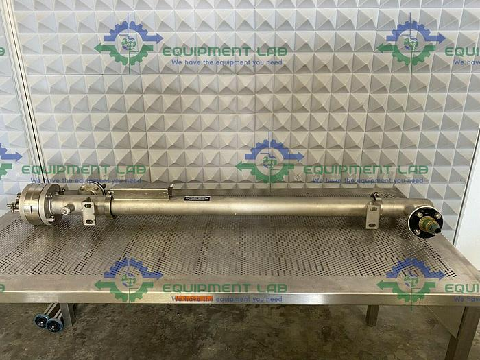 Used Allegheny Bradford  Stainless Steel Shell and Tube Heat Exchanger 6.3 Sq. Ft