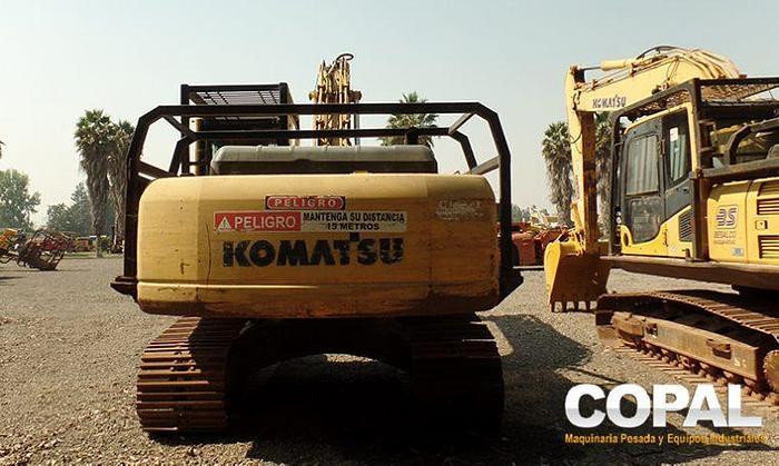 2007 Komatsu PC200-8