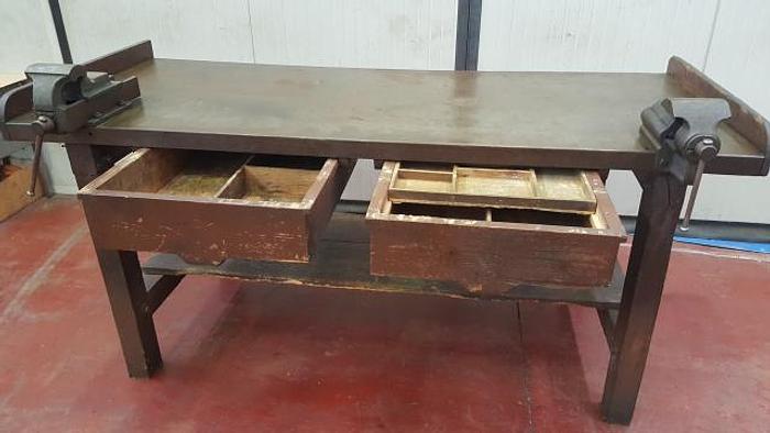 Usata Tavolo da Lavoro in legno