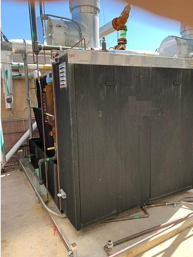 Used 2012 Park Boiler 70 HP 150 PSI