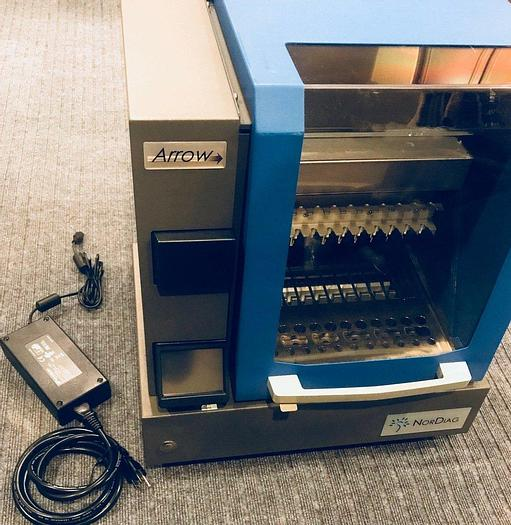 Used NorDiag Arrow DNA RNA Auto Magnetic Bead Based Nucleic Acid Extractor