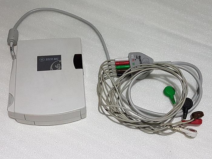 Gebraucht EKG Rekorder GE Seer Holter ohne Speicherkarte
