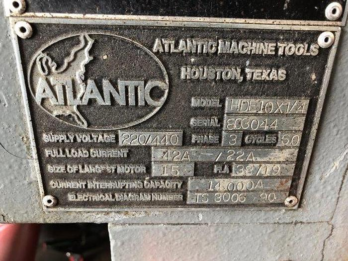 "Used 1/4"" x 10', ATLANTIC HDE10X1/4, HYDRAULIC, BACKGAUGE [5147]"