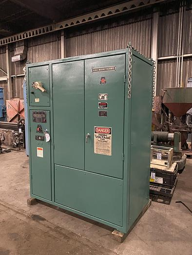 Used AJAX CORELESS INDUCTION FURNACE SYSTEM