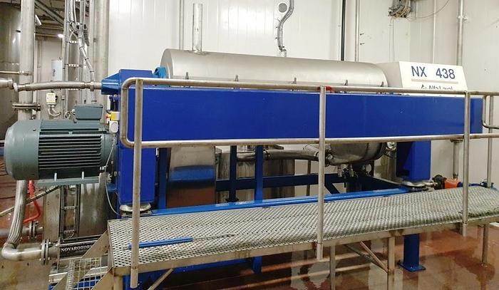Refurbished Alfa Laval tricanter centrifuge, NX438B-11G