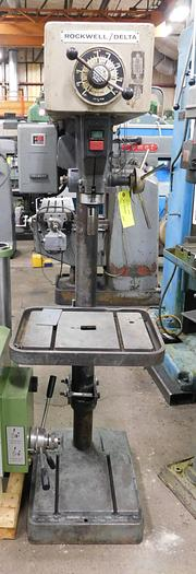 Used Rockwell/Delta Manual Feed Drill Press 718HG17-600