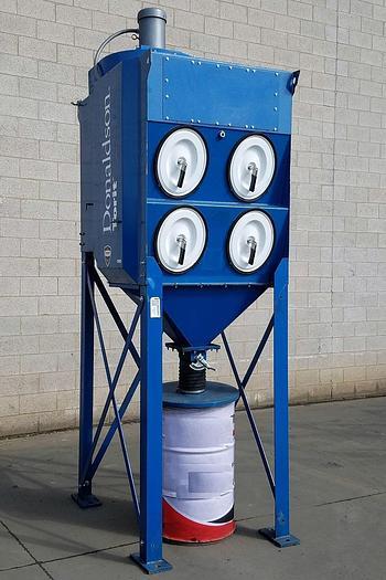 Refurbished 2,000 CFM DONALDSON TORIT CARTRIDGE TYPE DUST COLLECTON SYSTEM (#9821)
