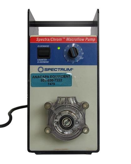 Used Spectrum Spectra/Chrom Macroflow Pump 146800 W/ Cole-Parmer Masterflex (7479)W