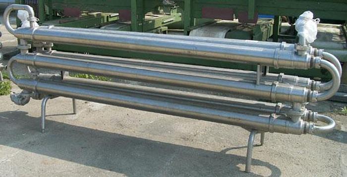 Used Pasteryzator rurowy (rura w rurze) - produkcji niemieckiej