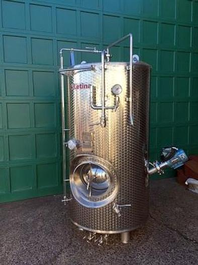 New Stock Letina 303Gal/1150L Jacketed High Pressure Sparkling Tank