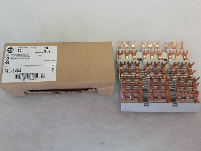 17 Stück Kompakt Sammelschienen, 140-L453, Allen Bradley, 3 Phasen neu