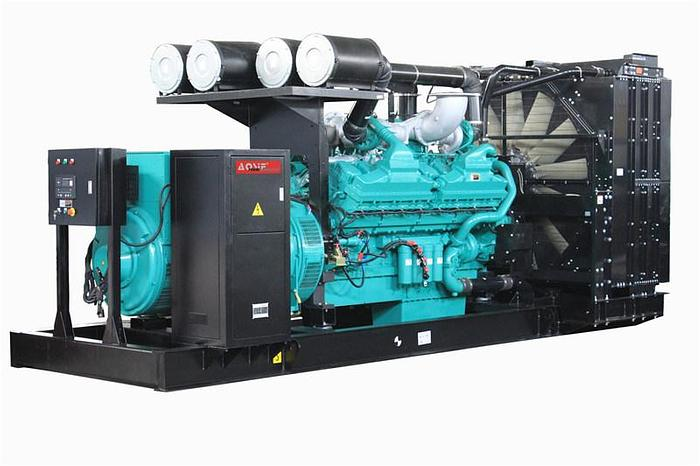 Used 1.6 MW 2006 Used Cummins QSK60-G4 Diesel Generator Set