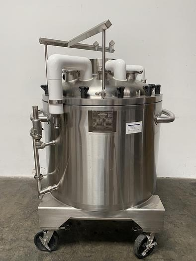 Used ABEC Stainless Technology CV-24300-1 300 Liter Jacketed Cryo Vessel -112° F to 280° F