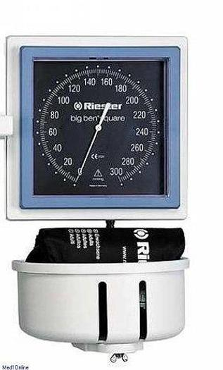 Riester big ben square Aneroid Blutdruckmessgerät Tischmodell mit Klettenmanschette