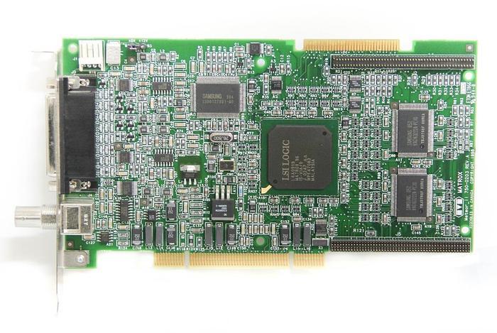 Used Matrox Meteor_II 750-0203 Rev.A Frame Grabber Card Meteor2/4 63039620278 (5561)