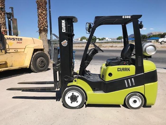 2012 CLARK C30CL Forklift
