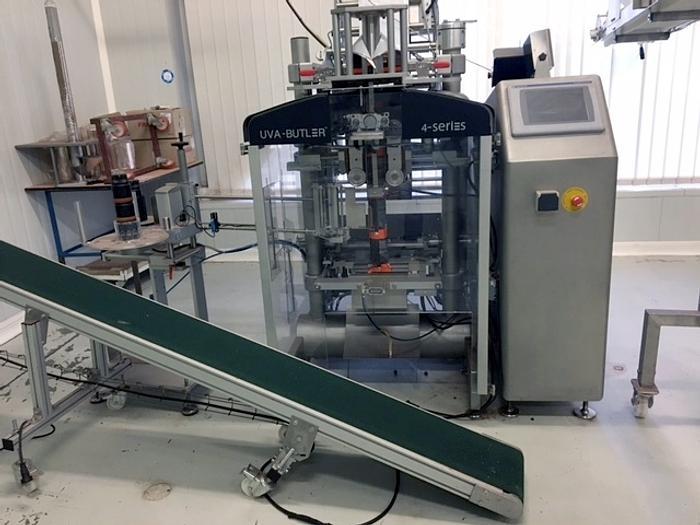 UVA-BUTLER BAGGING MACHINE, vertical form fill seal