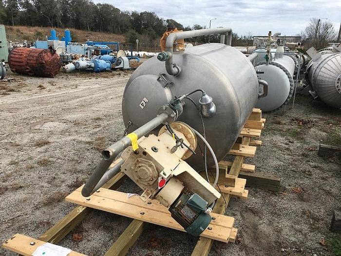 Used 248 GALLON DCI MIX TANK – S/S – JACKETED (#9707)